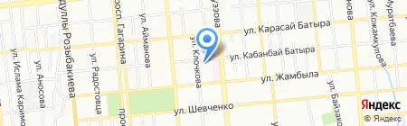 Ясли-сад №7 на карте Алматы