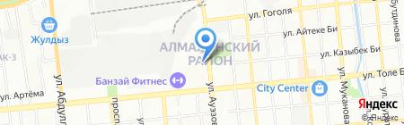 Дом Аксессуаров на карте Алматы