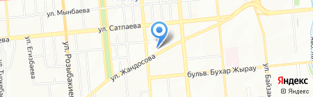 Асия на карте Алматы