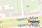 Схема проезда до компании Музкафе в Алматы