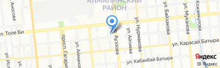Мармелад на карте Алматы