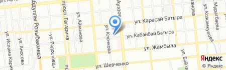 Дельфин на карте Алматы