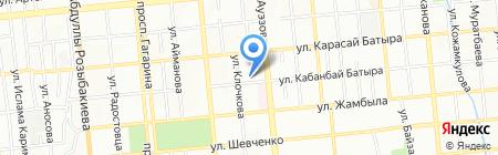 EcoHouse на карте Алматы