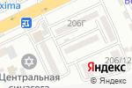 Схема проезда до компании Profi Decor в Алматы
