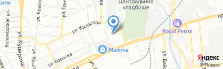 Бак-Ш Cleaning на карте Алматы