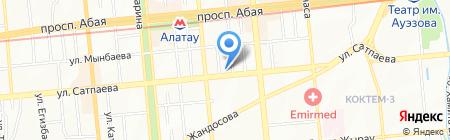 ТехноСистем Group ТОО на карте Алматы