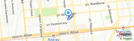 Артлайф-Азия торговая компания на карте Алматы