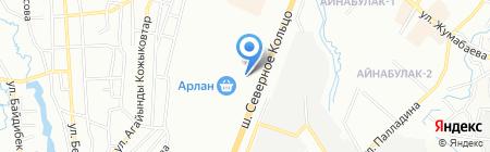 Келешек БСУ на карте Алматы