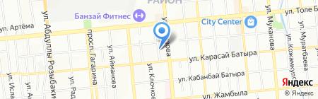 РУЧНАЯ БУМАГА НЕСКРОМНОГО на карте Алматы