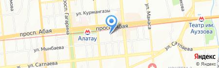 У Винни на карте Алматы