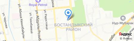 АРОМА ТОО на карте Алматы
