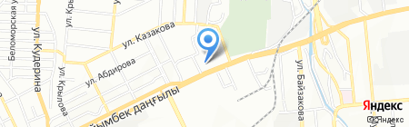Falcon на карте Алматы