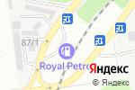Схема проезда до компании Royal Petrol в Алматы