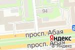 Схема проезда до компании Tengry Group в Алматы