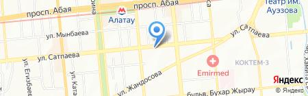 Brilliant Rose на карте Алматы