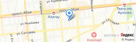 OSTA PRINT на карте Алматы