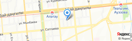 KazStroyKom Engineering на карте Алматы