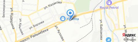 InterService на карте Алматы