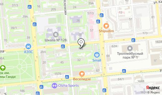 Intellect. Схема проезда в Алматы