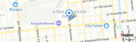 BAIKONUR MACHINERY GROUP на карте Алматы