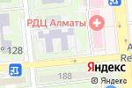 Схема проезда до компании Солнышко в Алматы