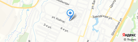 Ясли-сад №177 на карте Алматы