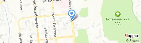 КАЗАХСТАН КОММЕРЦИЯ на карте Алматы
