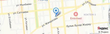 Бата на карте Алматы