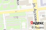 Схема проезда до компании Технолюкс Комплект Трейд в Алматы