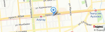 Перспектива на карте Алматы