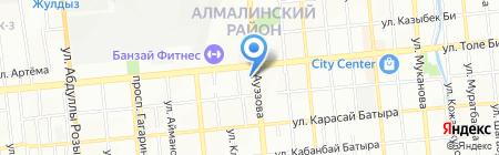 GX на карте Алматы