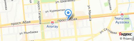KOREAN Cafe на карте Алматы