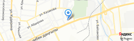 Тянь-Шань банкетный зал на карте Алматы