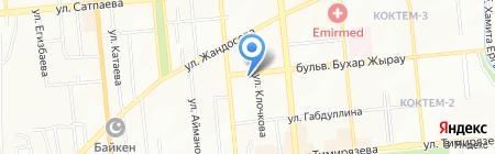 Аймарт супермаркет на карте Алматы