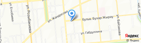 All For Press на карте Алматы