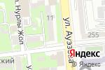 Схема проезда до компании Le Viton в Алматы