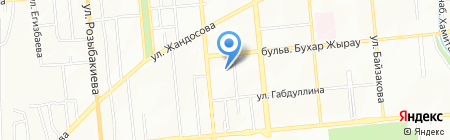 Ясли-сад №79 на карте Алматы