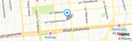 Техмед на карте Алматы