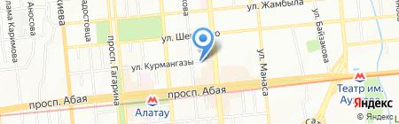 Планета снов на карте Алматы
