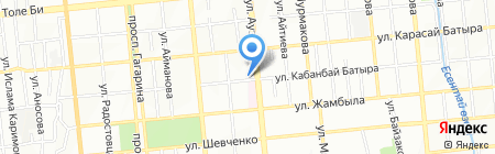 Киоск по изготовлению ключей на карте Алматы