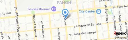 Мир мант на карте Алматы