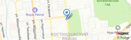 КазМетроСтандарт на карте Алматы