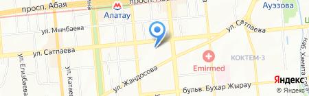 32 стом на карте Алматы