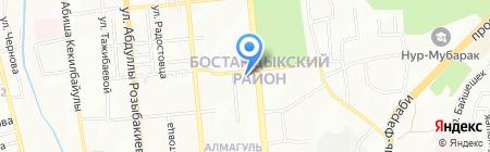 Lyazzat на карте Алматы