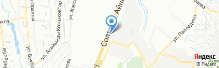АЗС ТУМА на карте Алматы