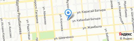 Киоск по продаже колбасных изделий на карте Алматы