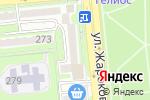 Схема проезда до компании Visalar.kz в Алматы
