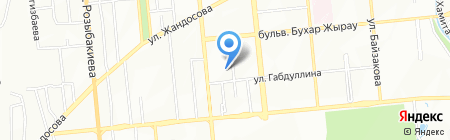 Гал LTD-Асет Е на карте Алматы