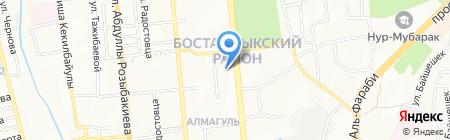 Рахмет продовольственный магазин на карте Алматы