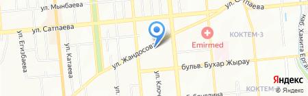 ANS на карте Алматы